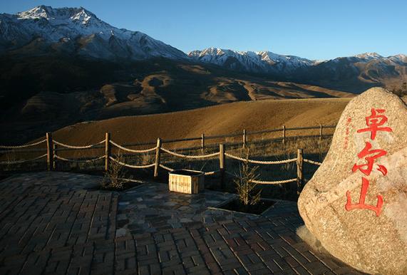 卓尔山那干净的空气,那美丽的风景让人久久都舍不得离开