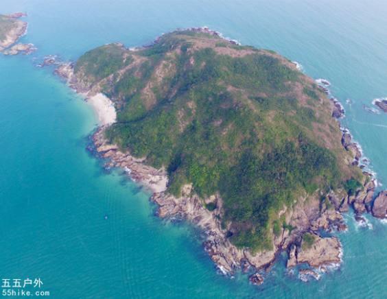 赤洲岛露营