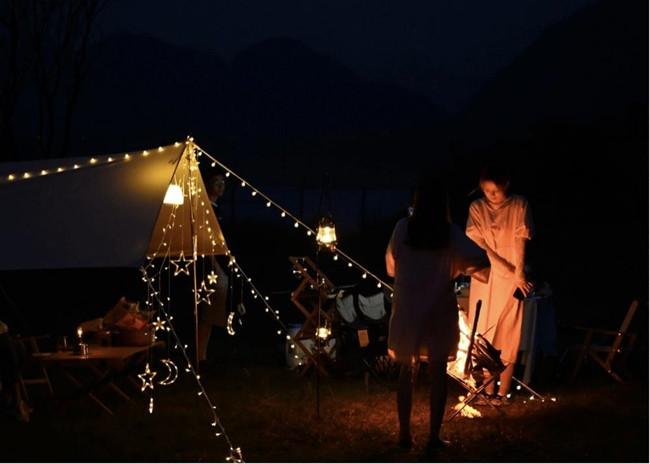 【轻奢露营】惠州罗浮山星空大草坪露营 越野车体验  围炉夜话狼人杀【五五户外】