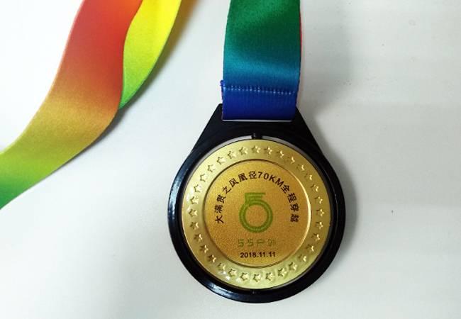 五五户外香港凤凰径全程奖牌
