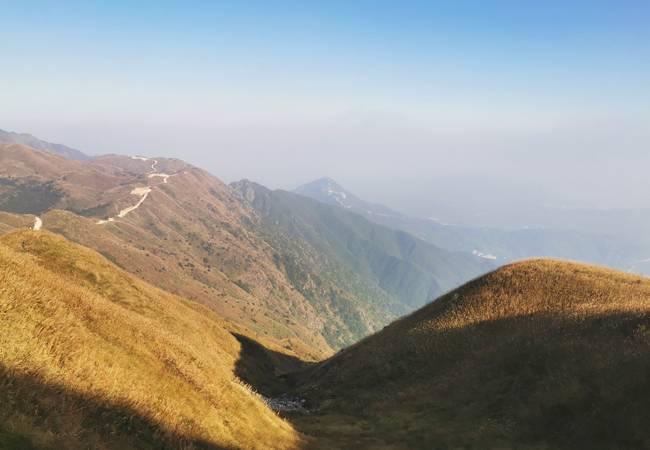 五五户外惠东大南山穿越