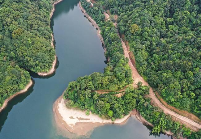 五五户外河源桂山天坑穿越