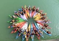 广州流溪河皮划艇让你hi个够