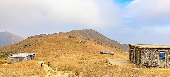 五五户外凤凰径二段香港第二峰大东山