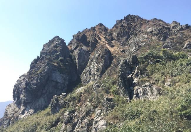 五五户外【小龙斗峰】清远佛冈猪咸脑山环线穿越