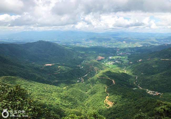 五五户外【怪石险峰】惠东第三峰白马山环线穿越