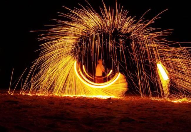 五五户外惠州喜洲岛露营 篝火狂欢PARTY