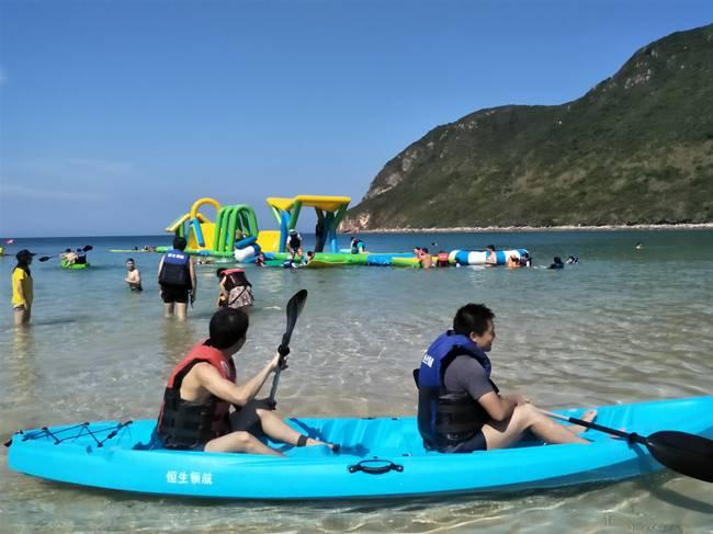 五五户外【海岛露营】三门岛浪漫之旅、快艇冲浪、海边露营烧烤