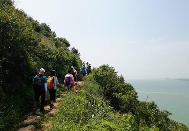 五五户外香港东澳古道徒步穿越