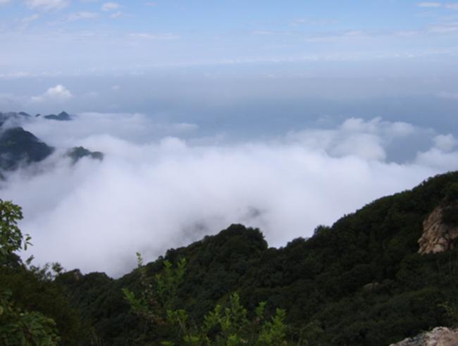 五五户外江门圭峰山9公里穿越