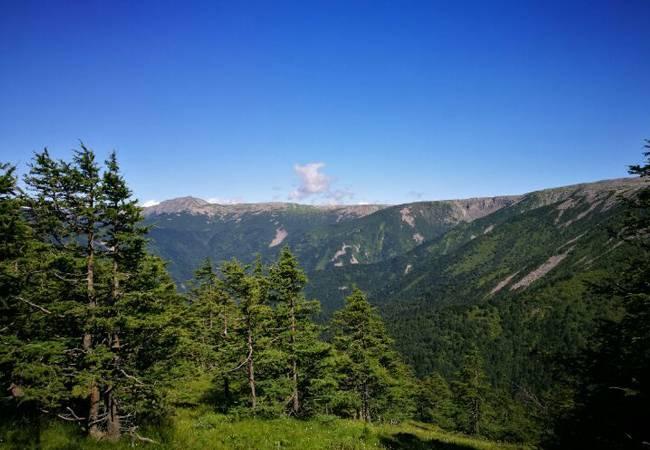 五五户外陕西第二高峰鳌山穿越
