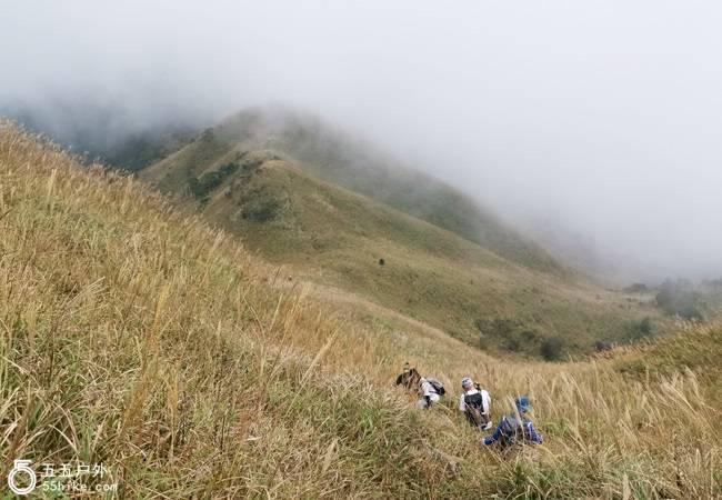 五五户外【虐线之旅】惠东拉胡线穿越  重现大南山精华段大草坡
