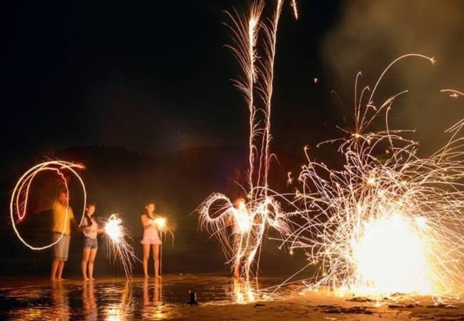 五五户外惠州咸台港沙滩露营