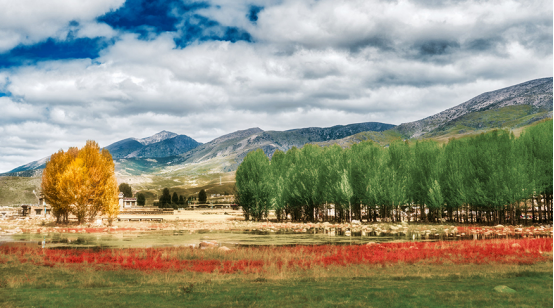 【深盟】玩聚 小时候·四姑娘山,丹巴藏寨,稻城亚丁,新都桥,海螺沟 时光之旅8日游
