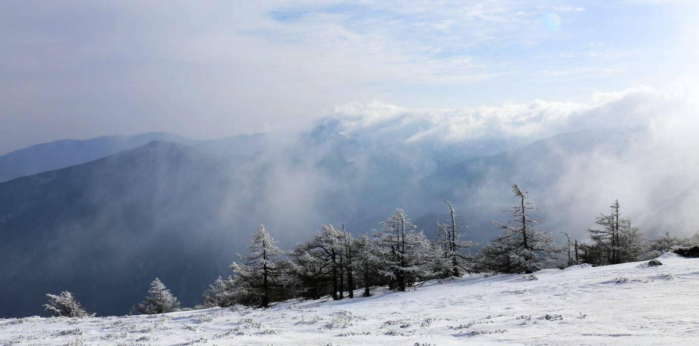 鳌山的风采一点都不比太白差