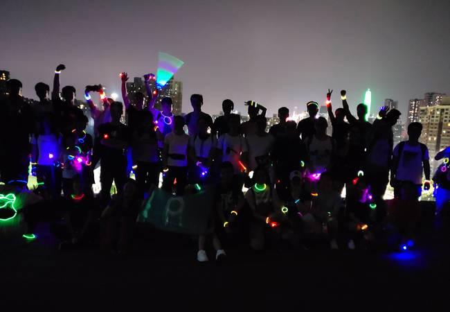 【每周三夜徒】深圳梅林绿道11KM夜徒