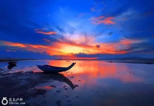 五五户外【渔舟唱晚】惠东风车山行摄 盐洲岛最美夕阳