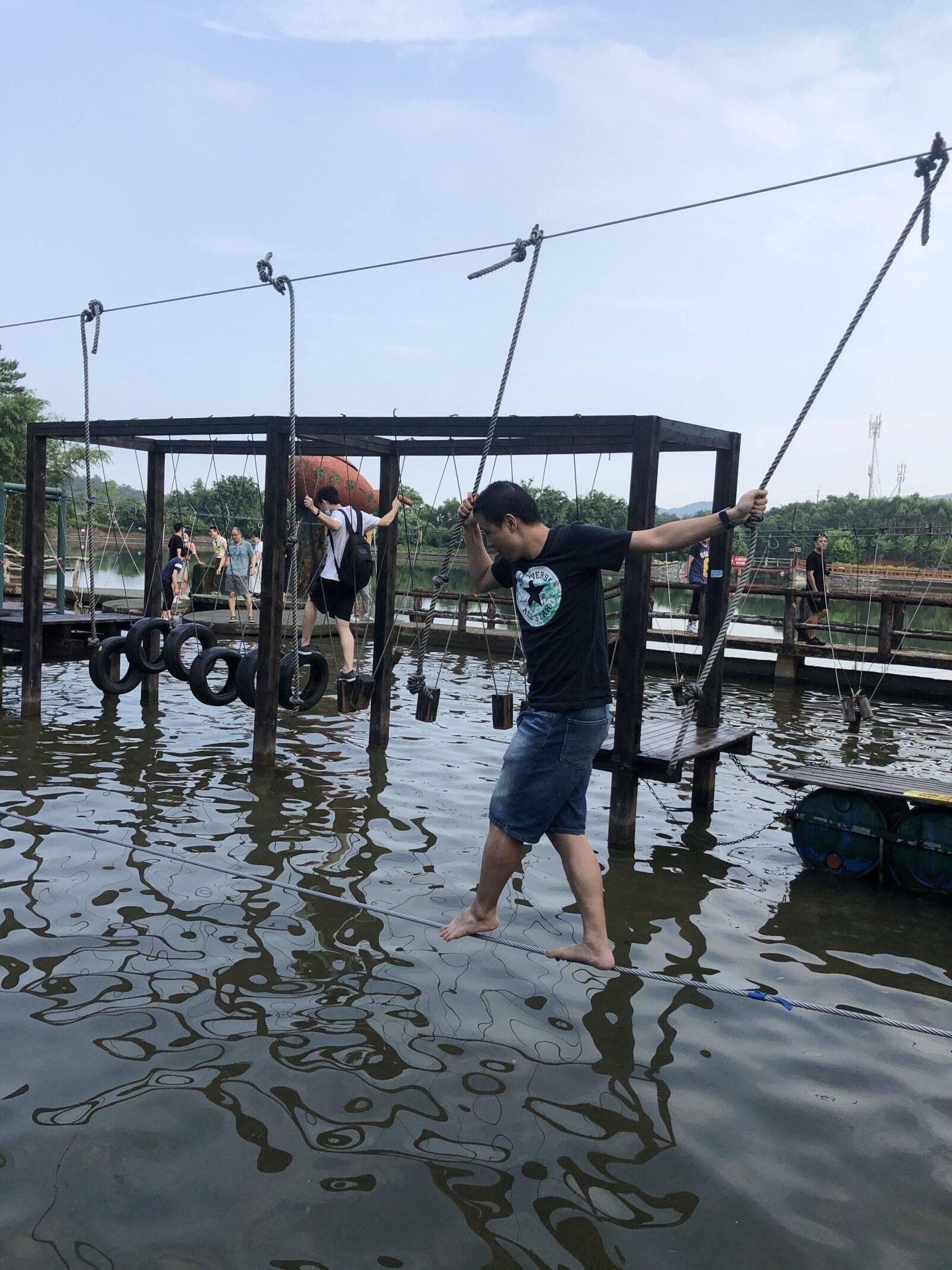 深圳市欢太科技有限公司五五户外清远漂流团建4