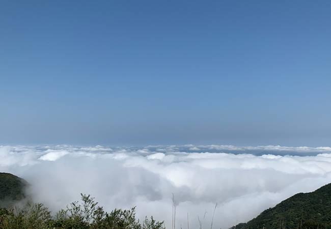 五五户外惠州罗浮山飞云顶穿越