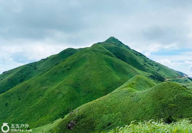 五五户外【高山草甸】绿色草甸 惠东大南山13KM穿越
