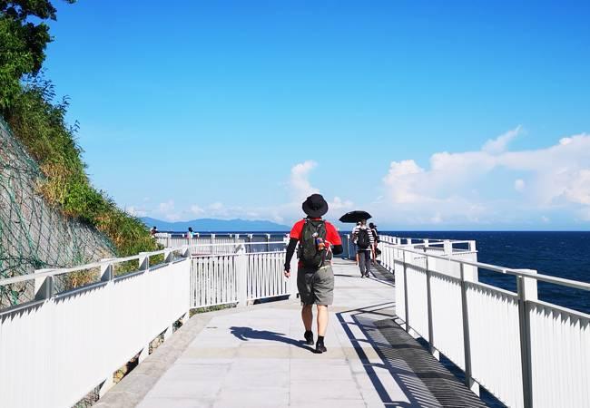 五五户外【碧海奇观】在最长海滨栈道欢乐趴