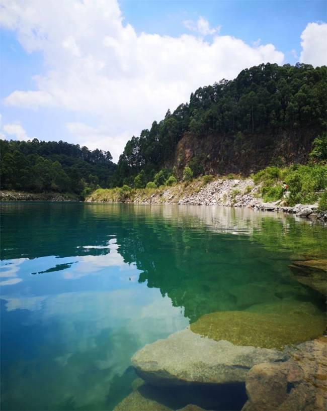 五五户外【网红天池】广州的眼泪 六片山穿越