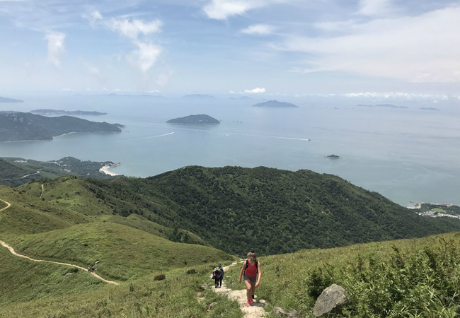 五五户外香港凤凰径