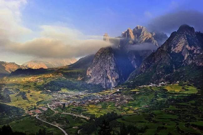 中国十大非著名山峰 重走洛克之路 甘南扎尕那轻徒步5日【五五户外】