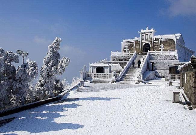 【冰雪衡山】湖南登祝融峰祈福赏绝美雾凇高铁往返 2月5日-7日