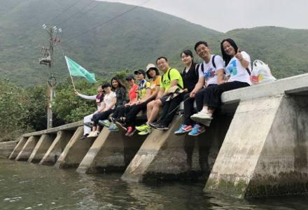 2018.04.21从深圳到香港中为遇见最美麦径穿越