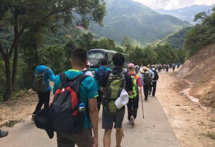 2018.05.20深圳徒步大南山穿越(被开路后的大南山)