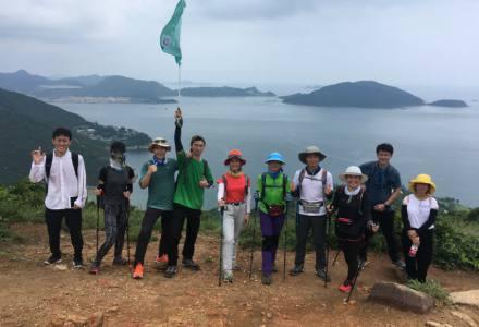 2018.09.08最强队伍港岛径徒步50KM徒步穿越